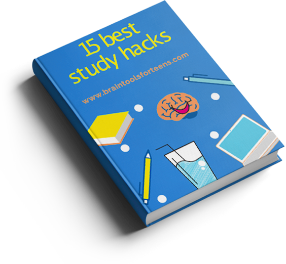 15 Best Study Hacks from Brain Tools for Teens by Malin Gutestam