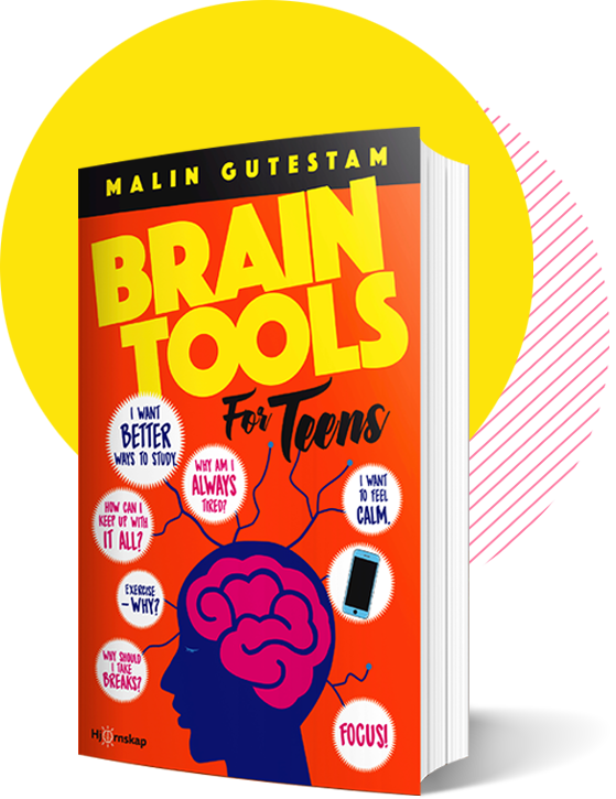 Brain Tools for Teens Book by Malin Gutestam