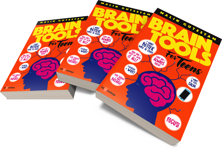 Three Brain Tools for Teens Book by Malin Gutestam